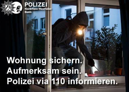 POL-BN: Wohnungseinbruch in Bad Godesberg – Polizei bittet um Hinweise