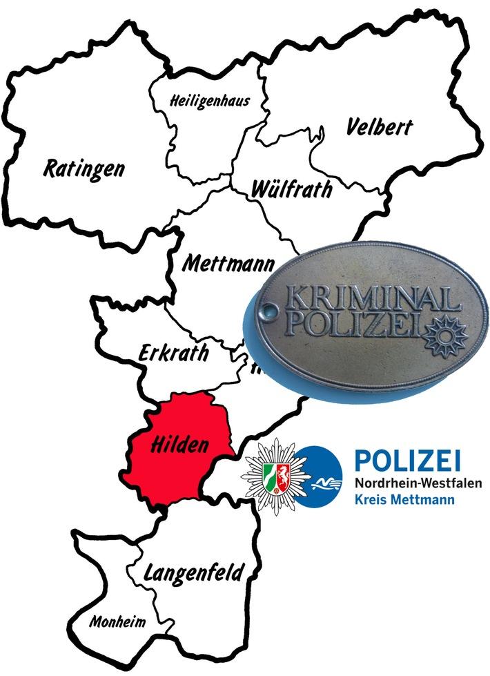 POL-ME: Schmuck gestohlen und Geldbörse geraubt – Hilden – 1804120
